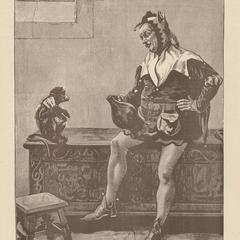 Capuchin Jester Print