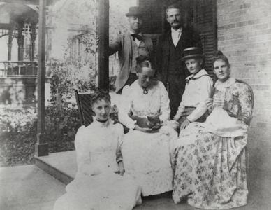 William F. Allen and family