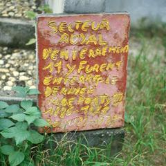 Tablet Marking Royal Residency of Historic Loango Kingdom