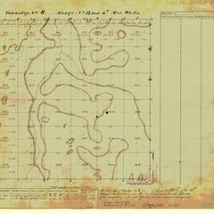 [Public Land Survey System map: Wisconsin Township 08 North, Range 13 East]