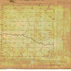 [Public Land Survey System map: Wisconsin Township 22 North, Range 01 East]