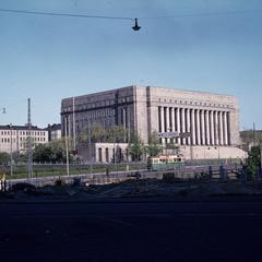 Finish parliament building