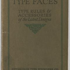 Type faces : type, rules, and accessories of the latest designs
