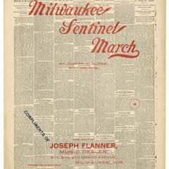 Milwaukee Sentinel march