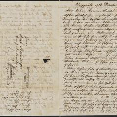 [Letter from Ludwig Sternberger to his brother, Jakob Sternberger, December 17, 1848]