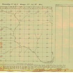 [Public Land Survey System map: Wisconsin Township 10 North, Range 01 East]