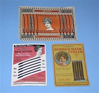 Hair wavers and curlers