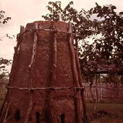 Clay Kiln Used by Fipas of Southwestern Tanzania to Smelt Iron