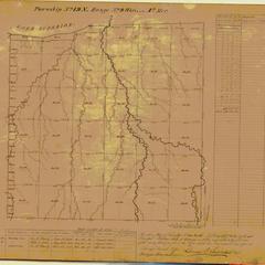 [Public Land Survey System map: Wisconsin Township 49 North, Range 09 West]