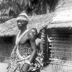 Portrait of Kuba-Pyaang Chief