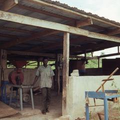Area for processing gari