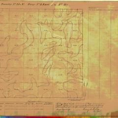 [Public Land Survey System map: Wisconsin Township 37 North, Range 03 East]