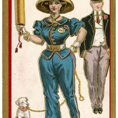 Suffragette coppette, Suffragette Series no.5 postcard
