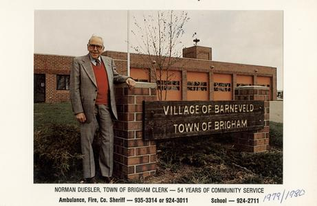 Town of Brigham Clerk
