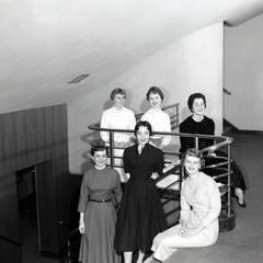 1955 Badger Beauties