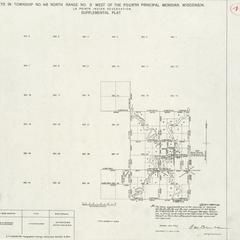 [Public Land Survey System map: Wisconsin Township 48 North, Range 03 West]