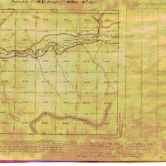 [Public Land Survey System map: Wisconsin Township 24 North, Range 10 West]