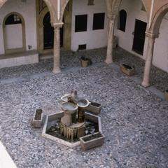 Lowest Level of Interior Courtyard of Serai al-Hamra