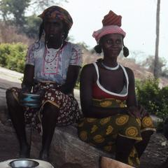 Two Fulani women