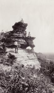 Geologists on Saddle Mound