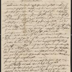 [Letter from Josef Sternberger to his mother, Johanna Sternberger, August 29, 1848]