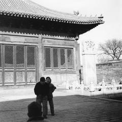 Baita Si-Temple of White Pagoda 白塔寺, also known as Miaoying Si 妙應寺 or Miaoying Temple.