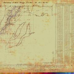 [Public Land Survey System map: Wisconsin Township 22 North, Range 06 East]
