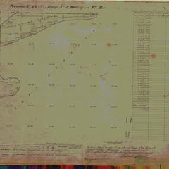 [Public Land Survey System map: Wisconsin Township 50 North, Range 02 West]