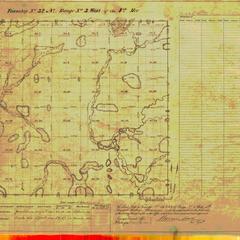 [Public Land Survey System map: Wisconsin Township 32 North, Range 03 West]