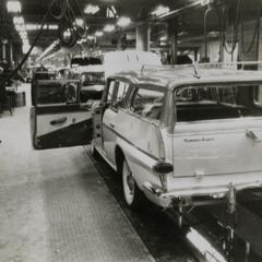 American Motors Corporation Rambler Supre on the assembly line