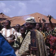 Iwude crowd during procession