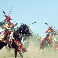 The Emir's Personal Guard at Big Sallah Celebration