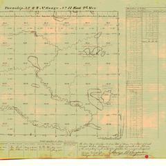 [Public Land Survey System map: Wisconsin Township 24 North, Range 11 East]