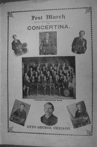 """Sheet music cover for """"Fest march,"""""""