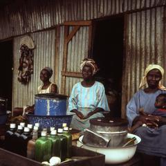 Shop at Ilesa market