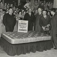 This is the 2,500,000 Beautyrest mattress by Simmons
