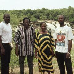 Group of people at Gurara Falls