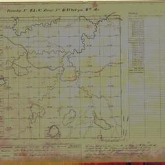 [Public Land Survey System map: Wisconsin Township 45 North, Range 06 West]