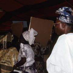 People at Makinwa funeral