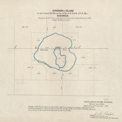 [Public Land Survey System map: Wisconsin Township 40 North, Range 06 East; Township 41 North, Range 06 East]