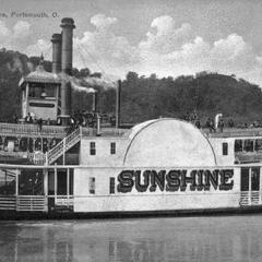 Sunshine (Excursion boat/Ferry, 1888-1923)