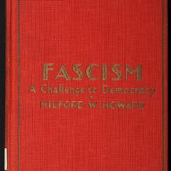 Fascism : a challenge to democracy