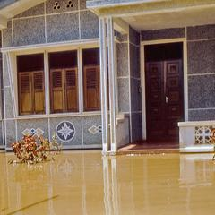Flood at Robert Wofford's Nongduang residence