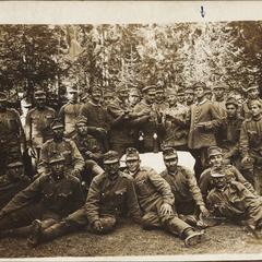 Bei der Öster. Chinabatterie i. Südtirol 1915