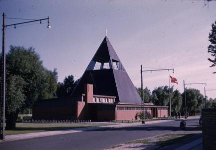Pyramid shaped church