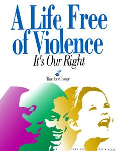 A life free from violence is our right