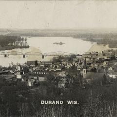 Bird's eye view of Durand
