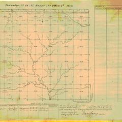 [Public Land Survey System map: Wisconsin Township 16 North, Range 02 West]