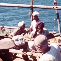 Pulling Up the Anchor of a Dhow
