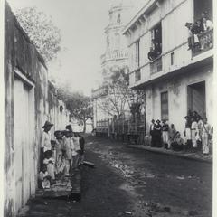 Calle de San Pedro, Cavite, 1899
